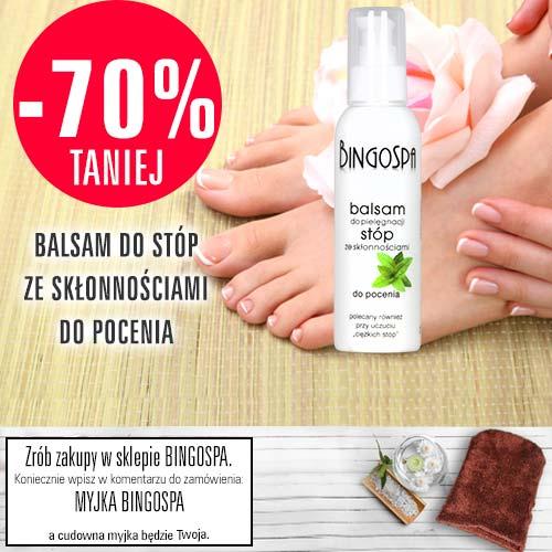 -70% TANIEJ Balsam do stóp ze skłonnościami do pocenia
